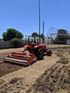 sports field renovation