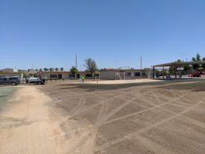 school sports field installation