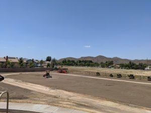 football field renovation
